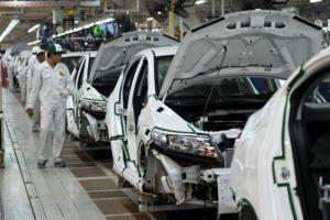 Honda's factory in Japan