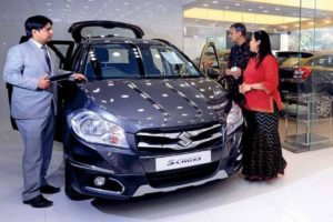 Maruti Suzuki India sales