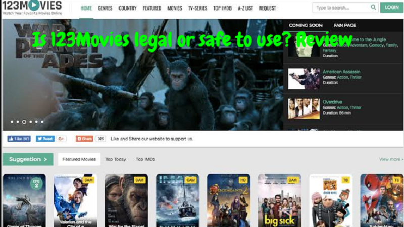 Is 123Movies legal or safe to use? Review
