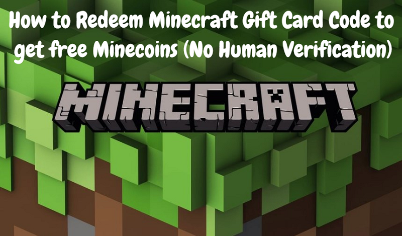 How To Redeem Minecraft Gift Card Code To Get Free Minecoins No Human Verification News969 Latest Technology News Gaming Pc Tech News