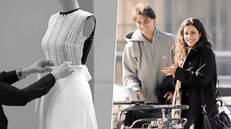 Rafael Nadal wedding: First look at Mery Perello's dress