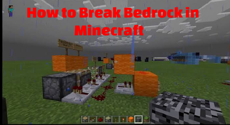 How to Break Bedrock in Minecraft
