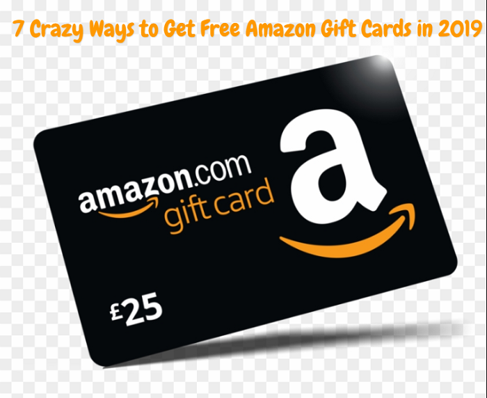 7 Crazy Ways to Get Free Amazon Gift Cards in 2019