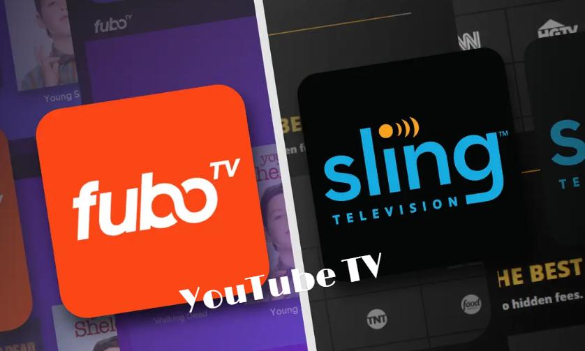 Fubo tv vs Youtube tv vs Sling Tv: best for live streaming