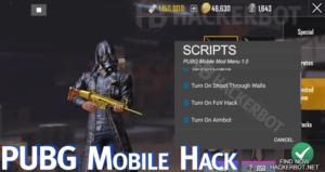PUBG cheat codes wall hack