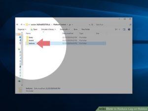 reduce roblox lag on Windows