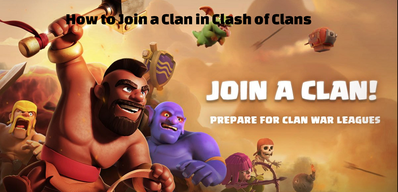 How to Join a Clan in Clash of Clans