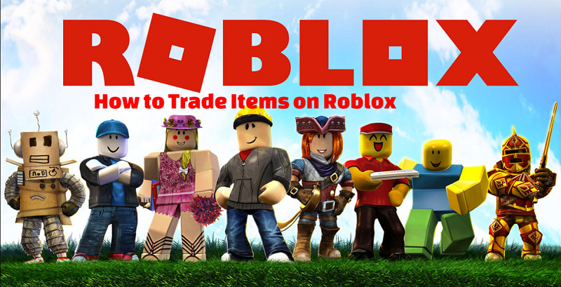 Trade Items on Roblox