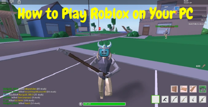 Play Roblox On Desktop How To Play Roblox On Your Pc Latest Technology News Gaming Pc Tech Magazine News969