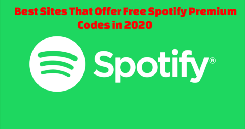 Spotify Premium Codes in 2020