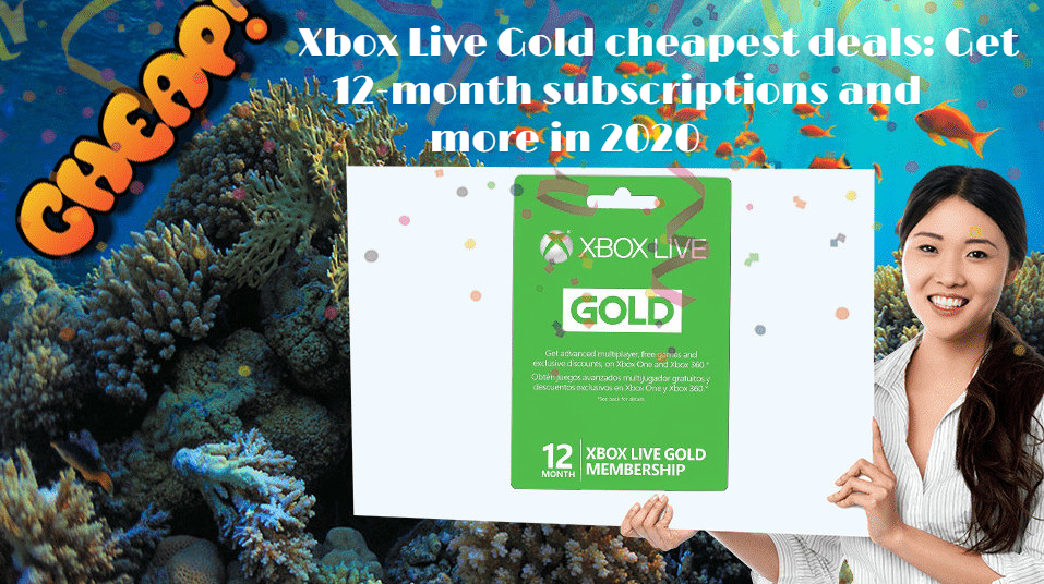 Xbox Live Gold 12-month subscriptions