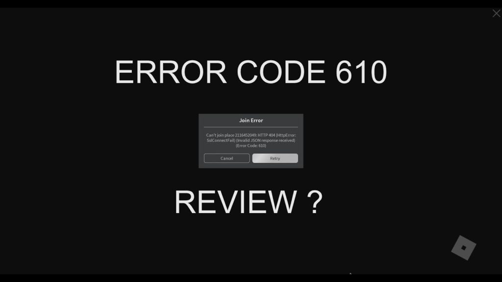 How To Fix Roblox Error Code 610 Quick Ways To Fix Bugs And Issues News969 Latest Technology News Gaming Pc Tech News
