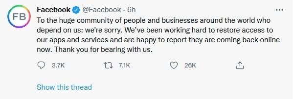facebook, instagram, and whatsapp down